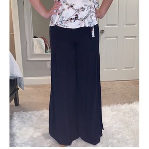 Pants - Navy Bell Bottom Boutique Pants